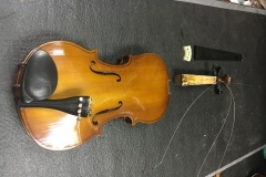 Fiddle restoration